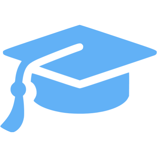 Blue graduation cap png. Tropical icon free icons