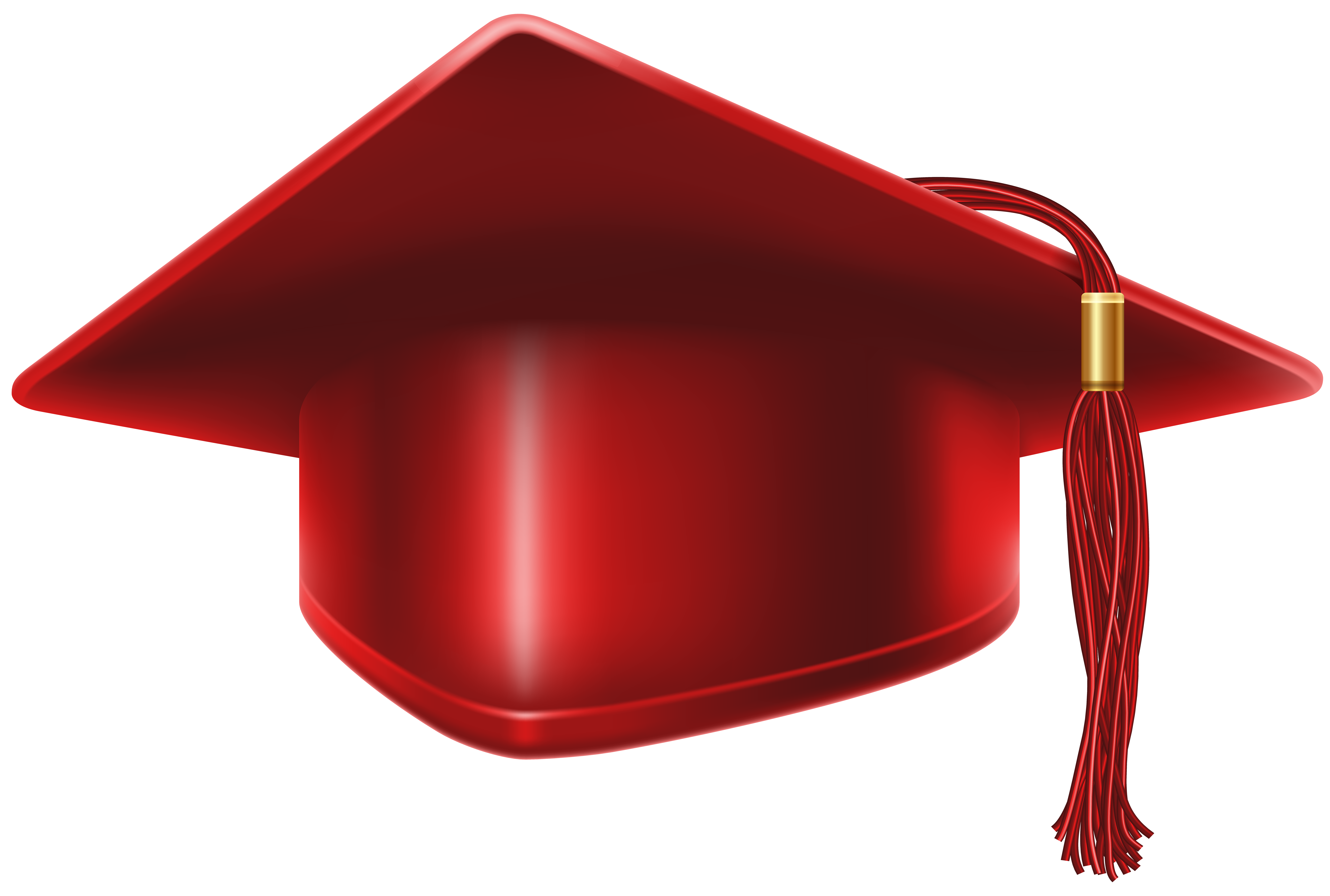 red graduation cap png