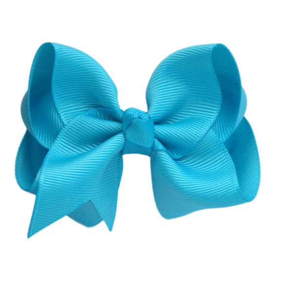 blue hair bow png