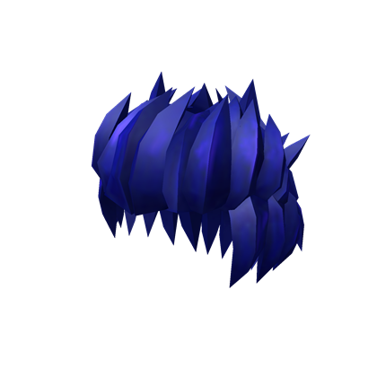Roblox hair png. Image stylish blue wikia