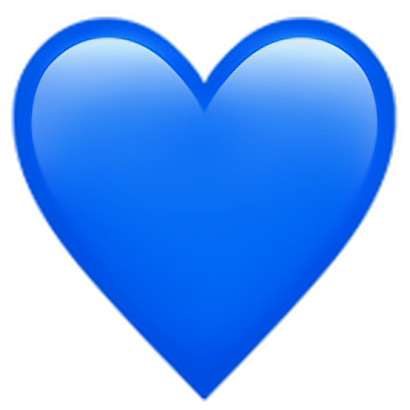 Blue heart emoji png. Discover the coolest blueheartemoji