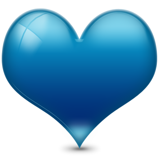 Blue heart png. Icon free icons and