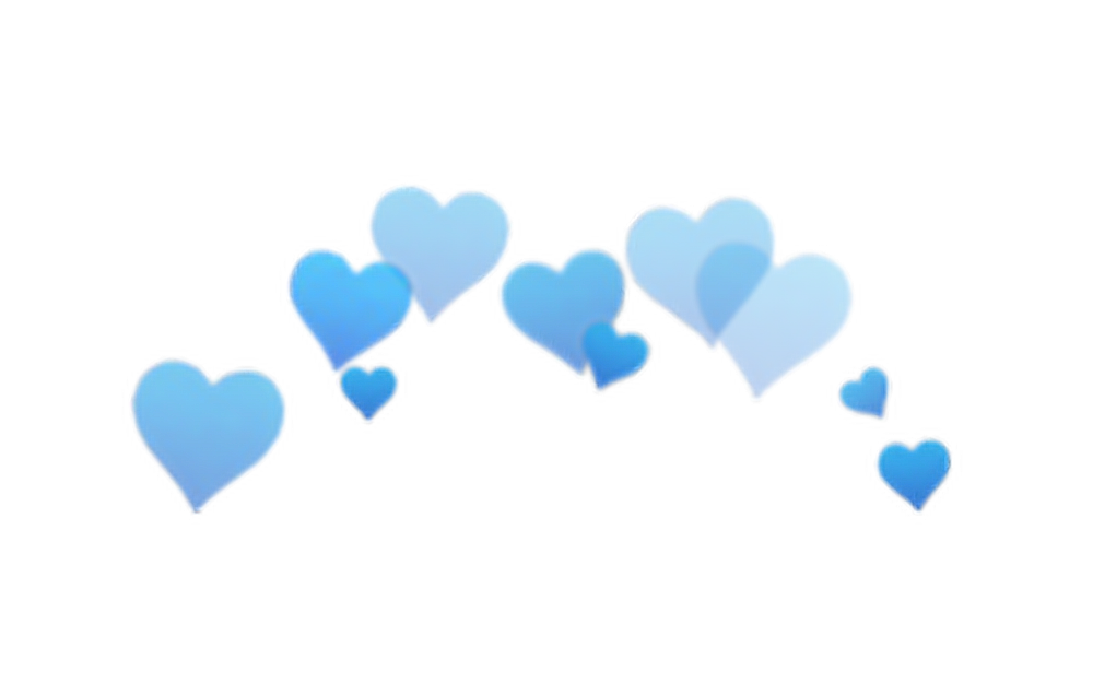 heart, png blue