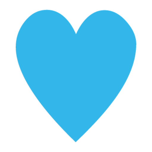 blue hearts png
