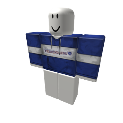 Blue hundreds png. The hoodie roblox