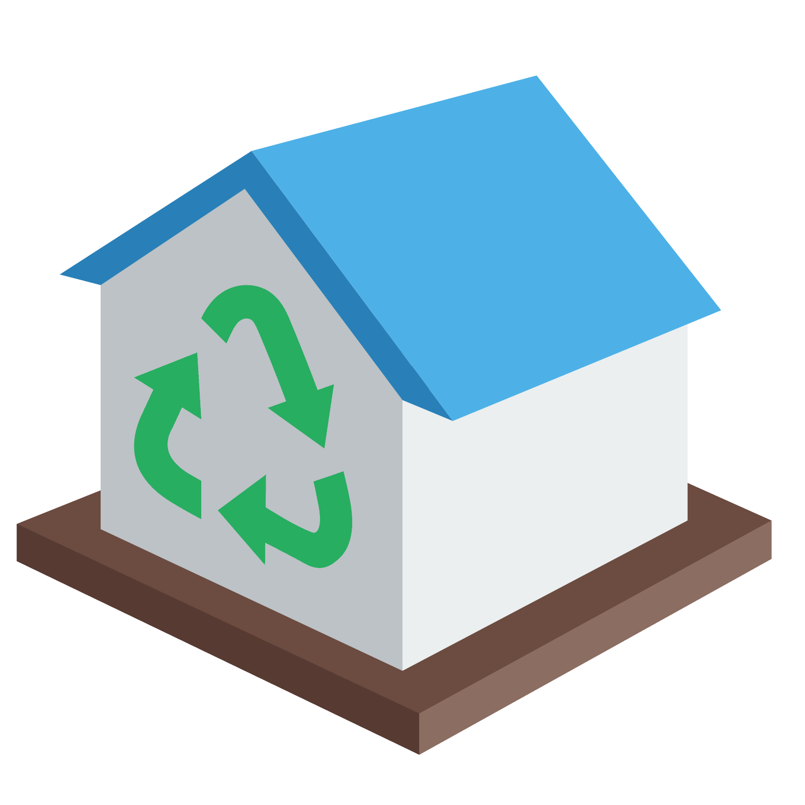 Blue hundreds png. D house icon
