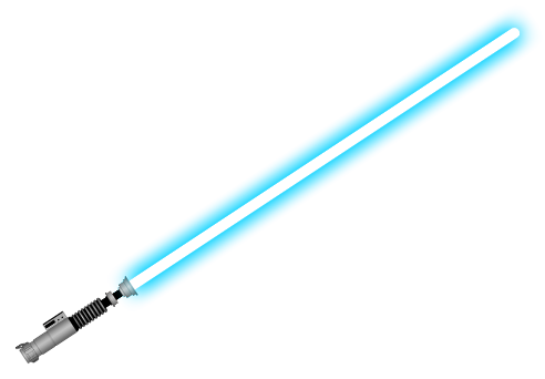 yellow lightsaber png