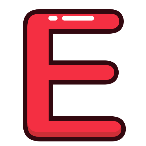 Blue letter f png. Letters red alphabet icon