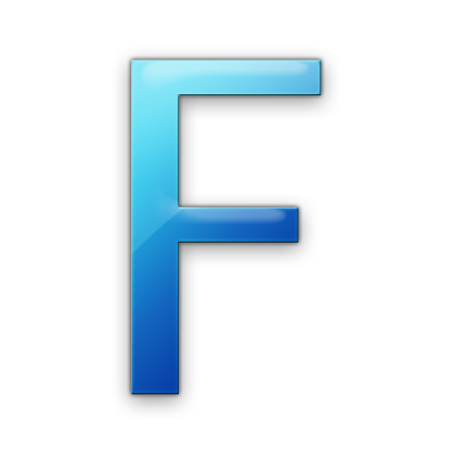 Blue letter f png. Icon free icons and