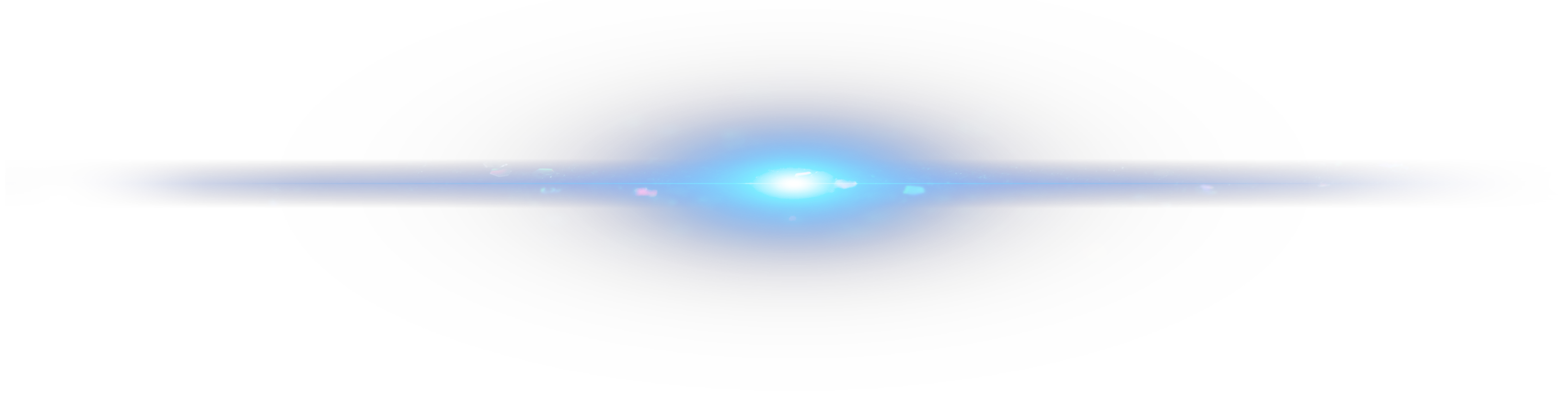 Blue light effects png. Sky halo effect element