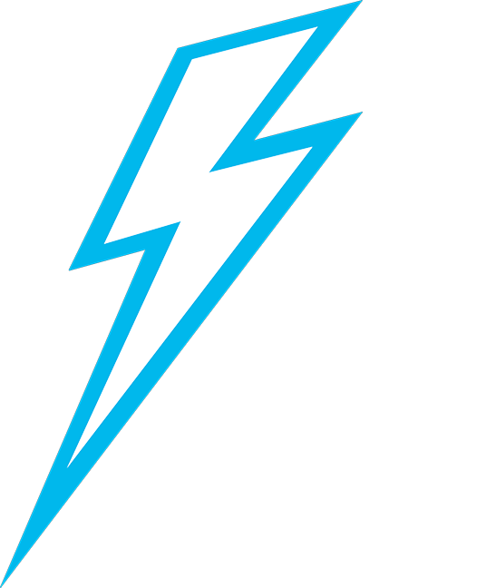 Blue lightning bolt png. Photo free icons and