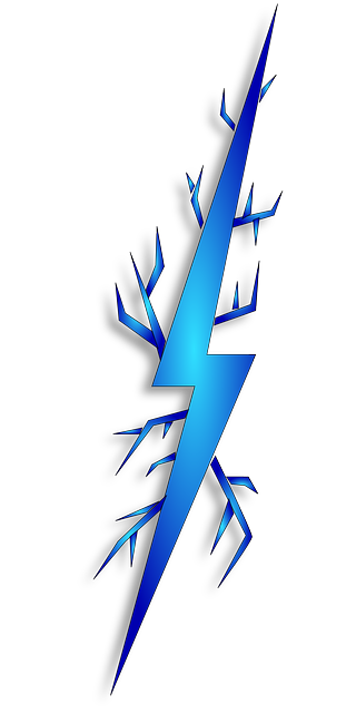 Blue lightning bolt png. Free icons and backgrounds