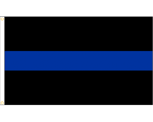 Thin blue line png. Flag