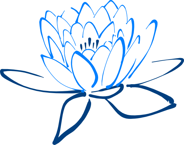 Light clipart light dark. Blue lotus clip art