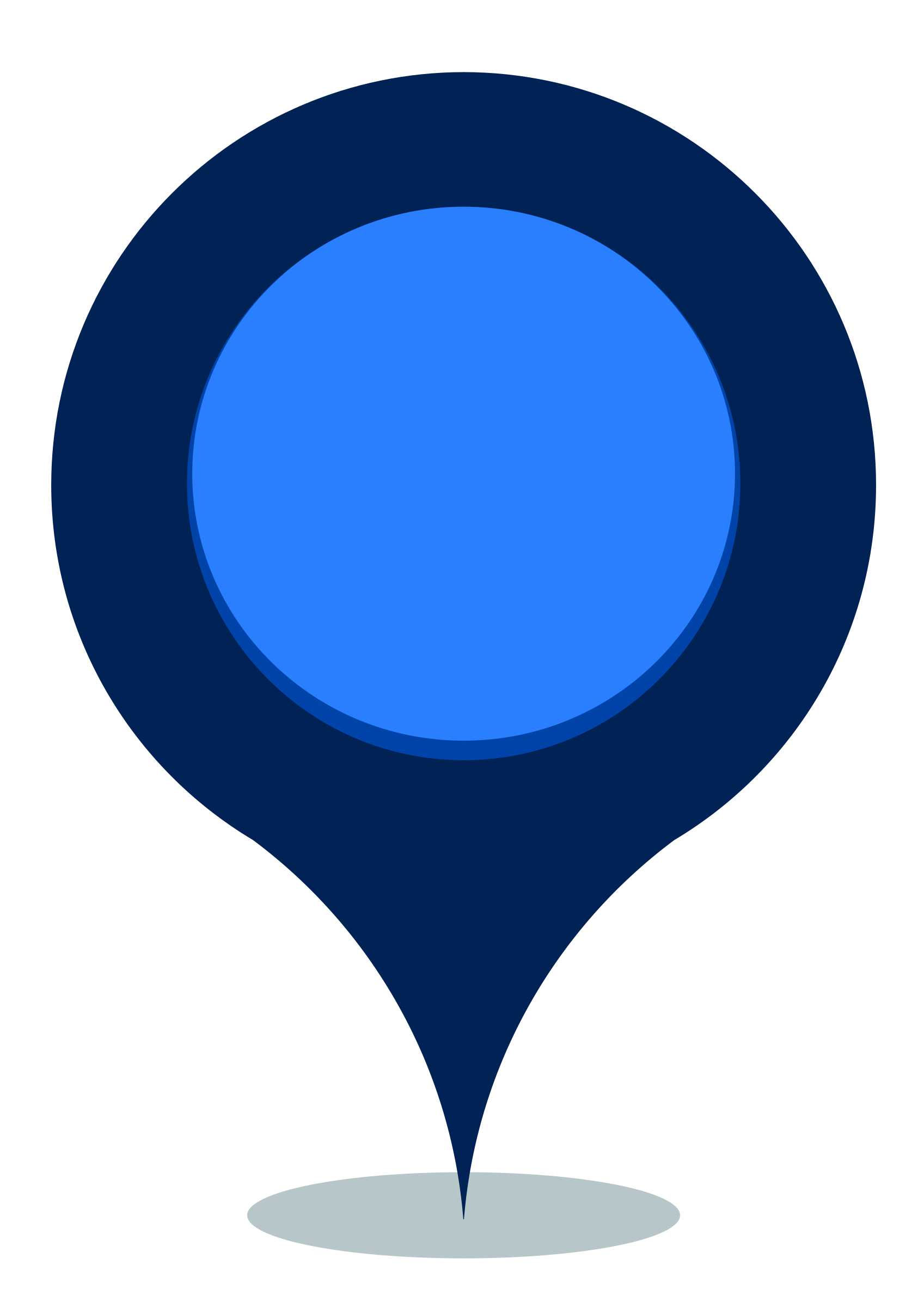 Blue map pin png. Icons free and downloads
