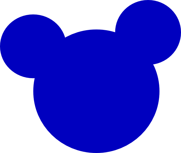 Mickey mouse head silhouette png. Clip art at clker