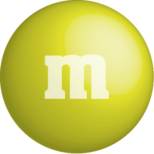 yellow m&m png