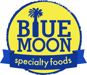 Blue moon logo png. Specialty foods sauces spices
