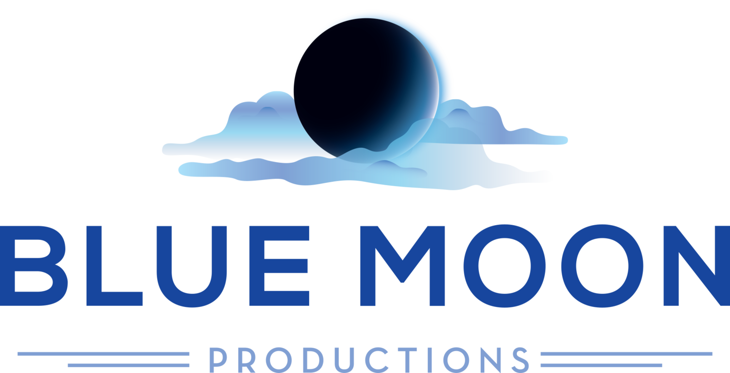 Blue moon logo png. Productions
