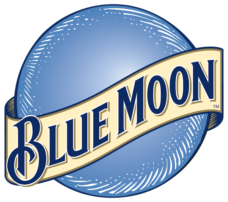 Brewing co find their. Blue moon logo png vector freeuse library