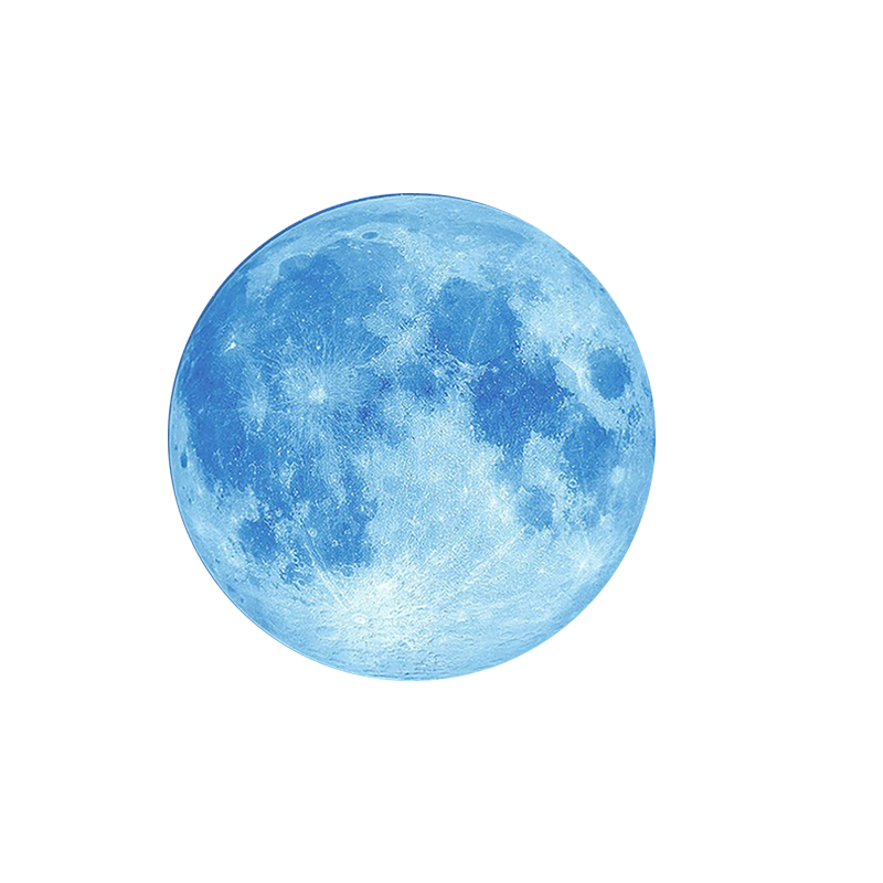 Blue moon png. Hd quality and best