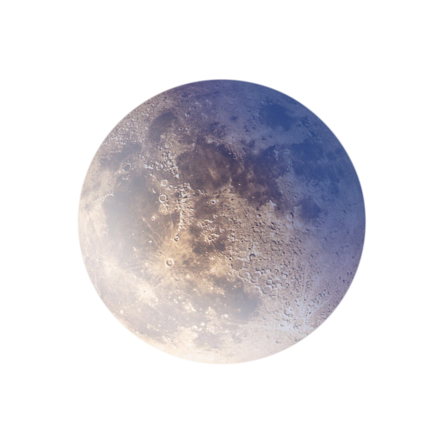 Blue moon png. Full by annamae on