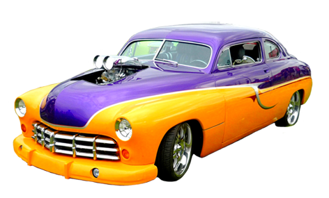 Blue muscle car png white background. Classic pictures orange and