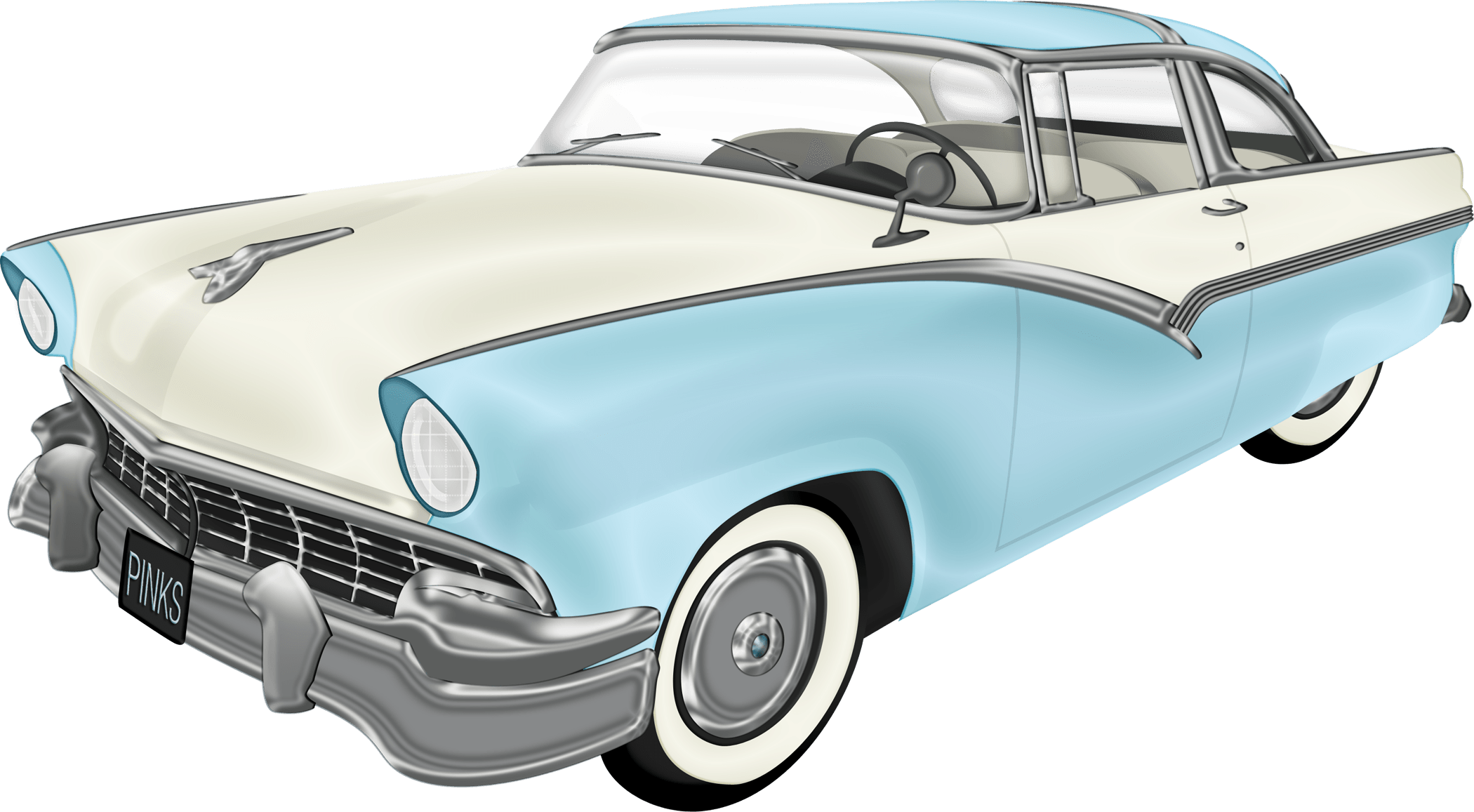 old school car png
