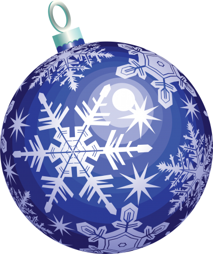 Ornament transparent three. Christmas ball isolated stock