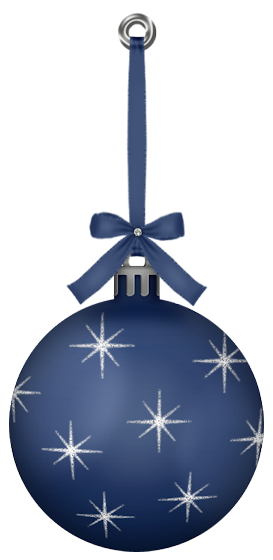 Ornament transparent dark blue. Hanging christmas ball png