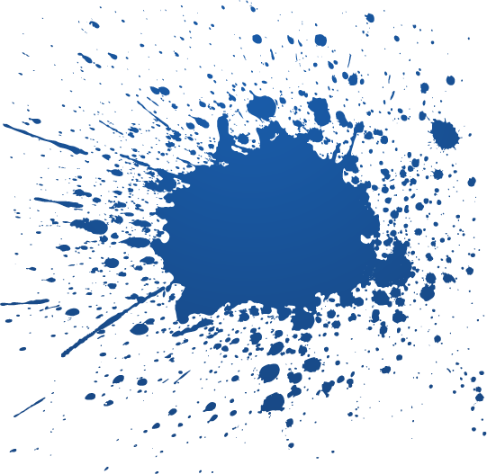 Blue splatter png. Paint images in collection