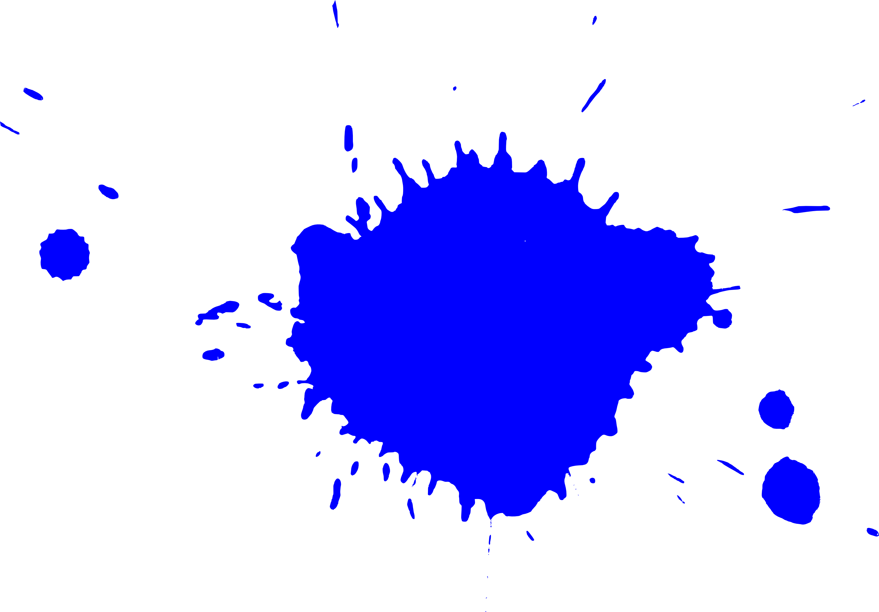 Blue paint splatter png. Splatters transparent onlygfx