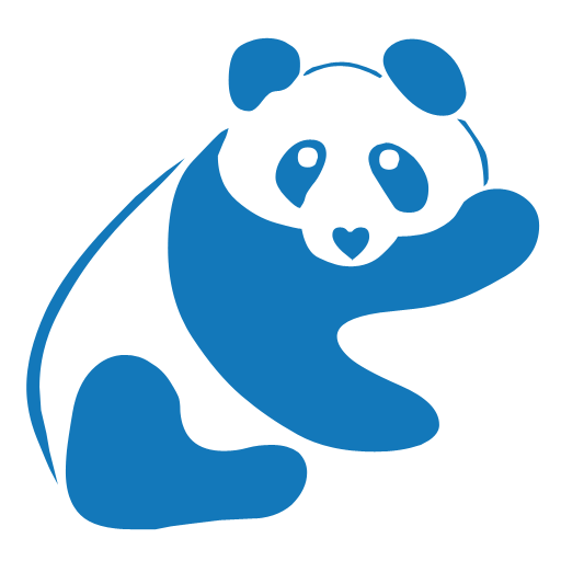 Blue panda png. Happy mongoose games we