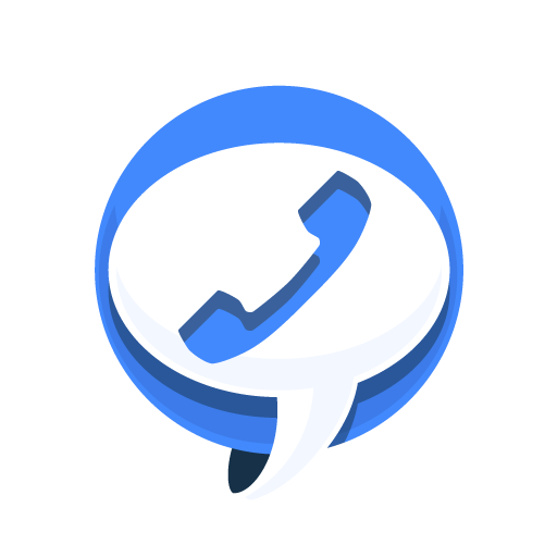 blue telephone icon png