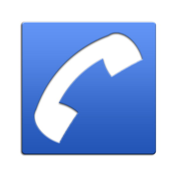 Blue phone icon png. Icons vector free and