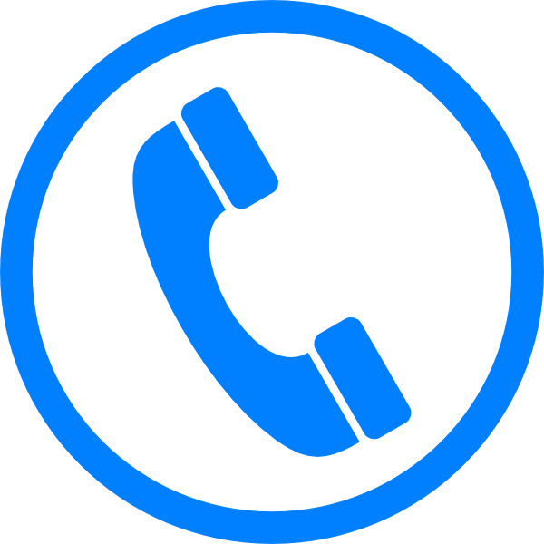 Blue phone png