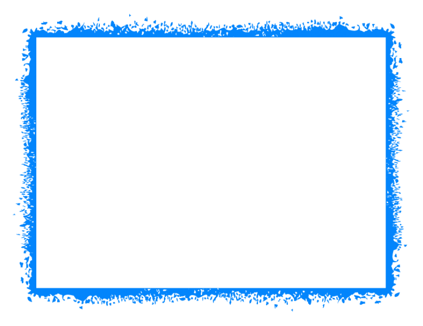 Blue photo frame png. Border free images toppng