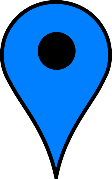 Map pins png. Blue pin transparent stickpng