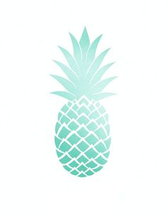 Blue pineapple. Clipart x free clip