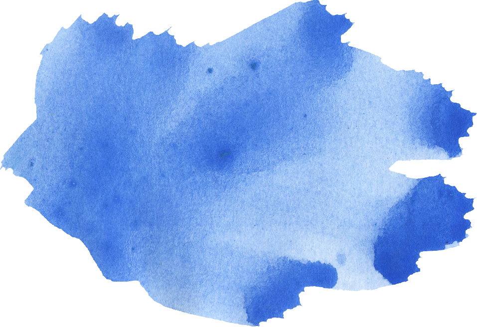 watercolor brush stroke. Blue png vector royalty free stock
