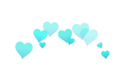Tumblr overlay png. Hearts photobooth in different