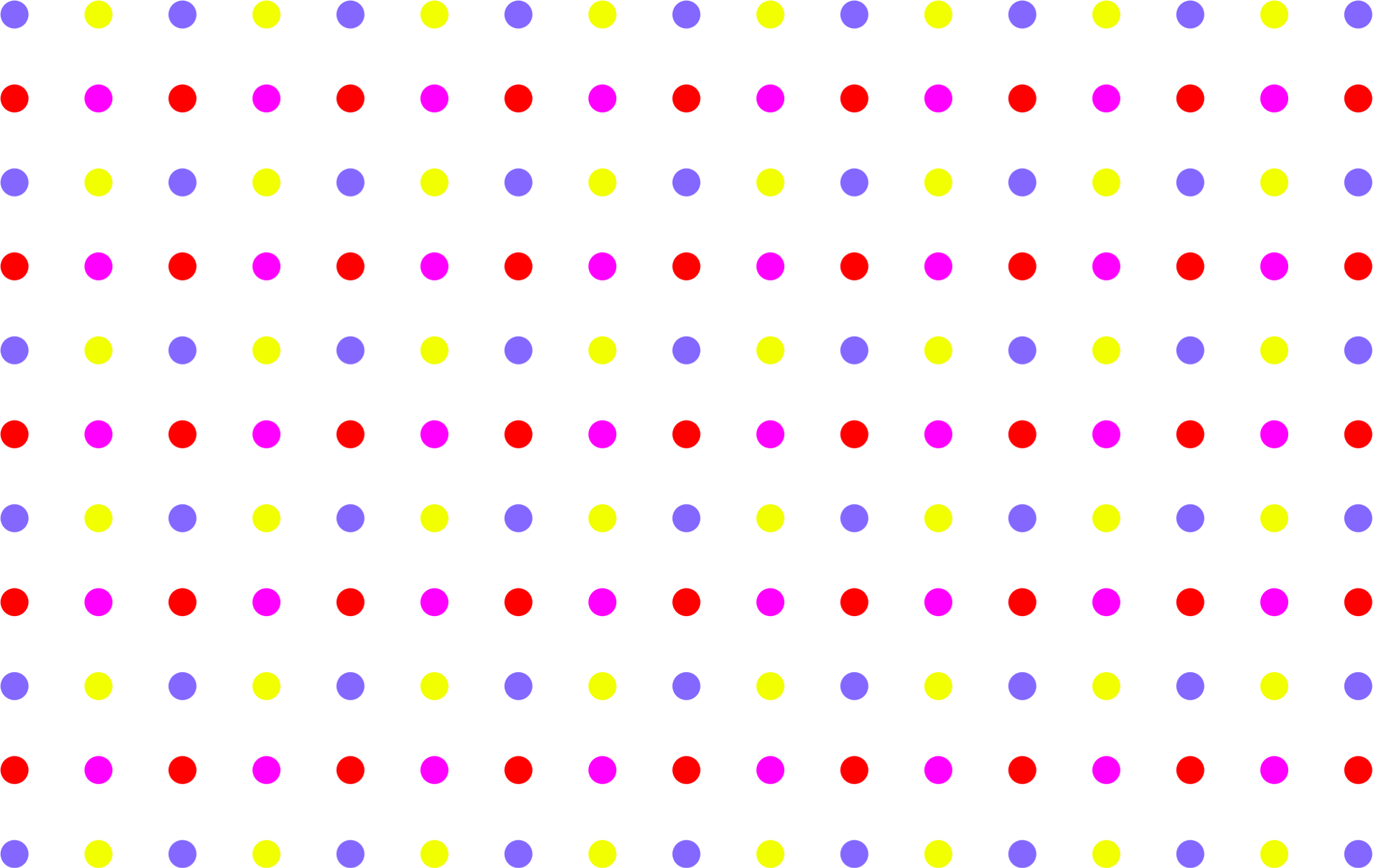 Blue polka dots png. Seamless colorful sparse dot