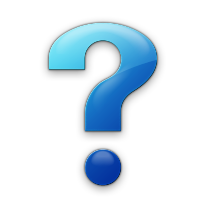 Blue question mark png. Simple icon free icons