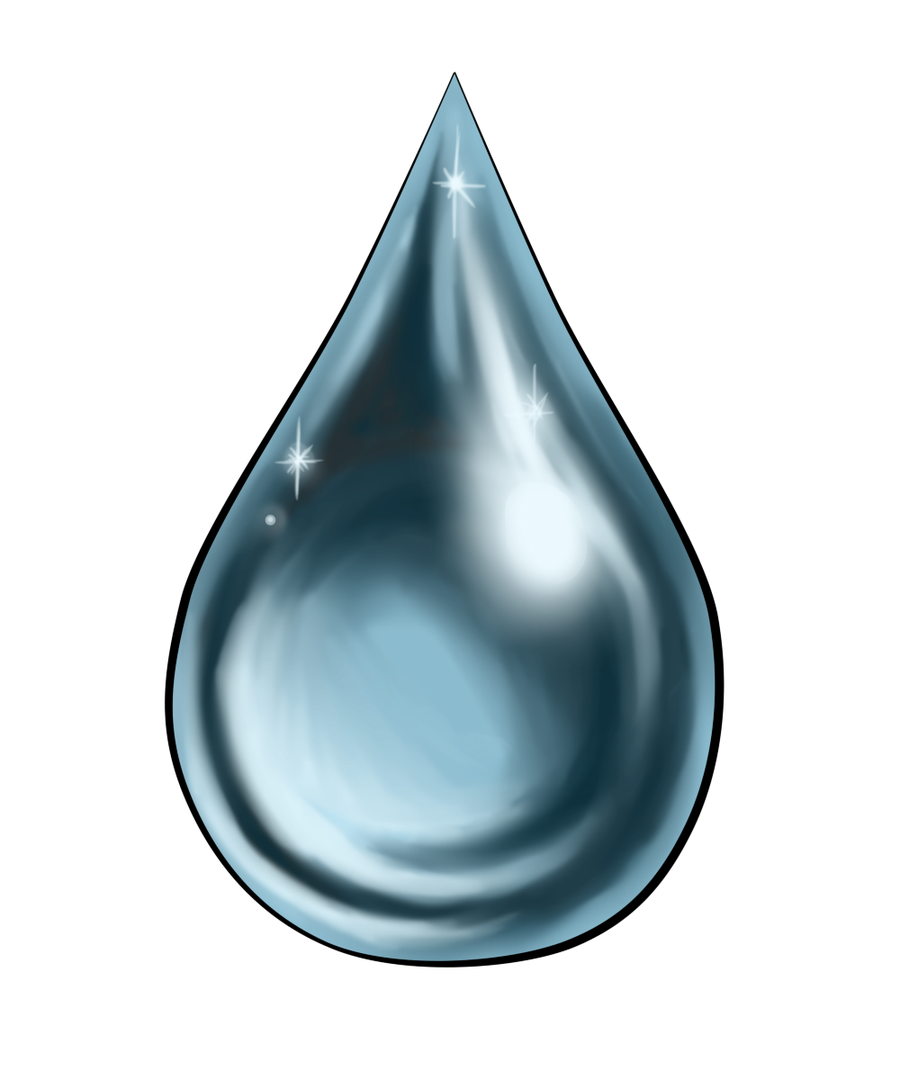 single raindrop png