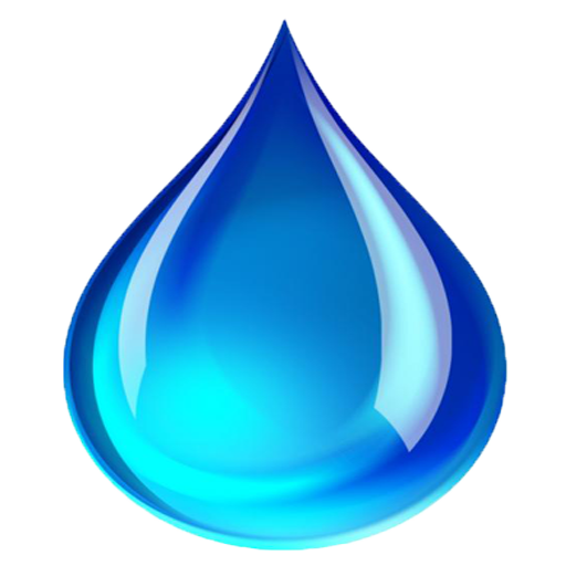 Blue raindrop png. Image cropped raindrops icon