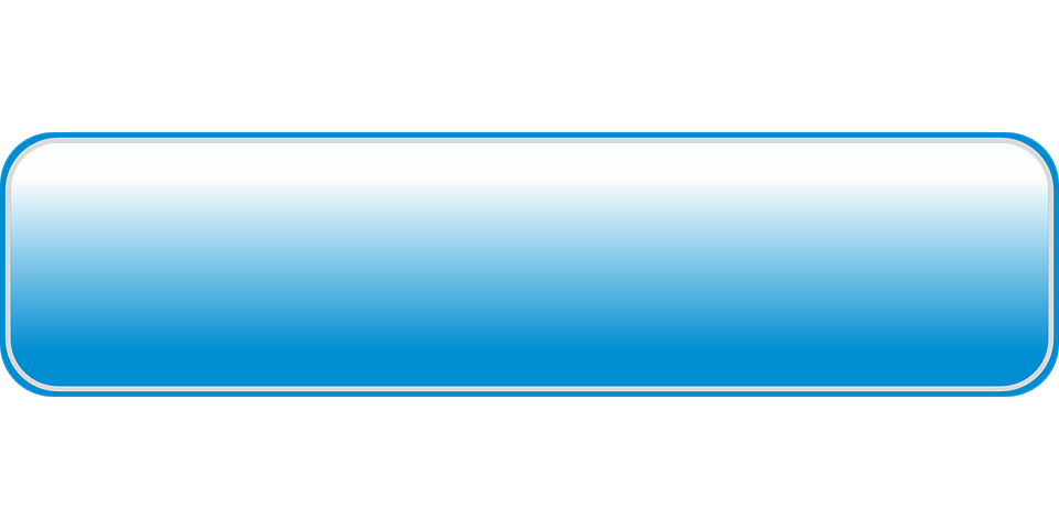 Blue rectangle png. Light rounded button transparent