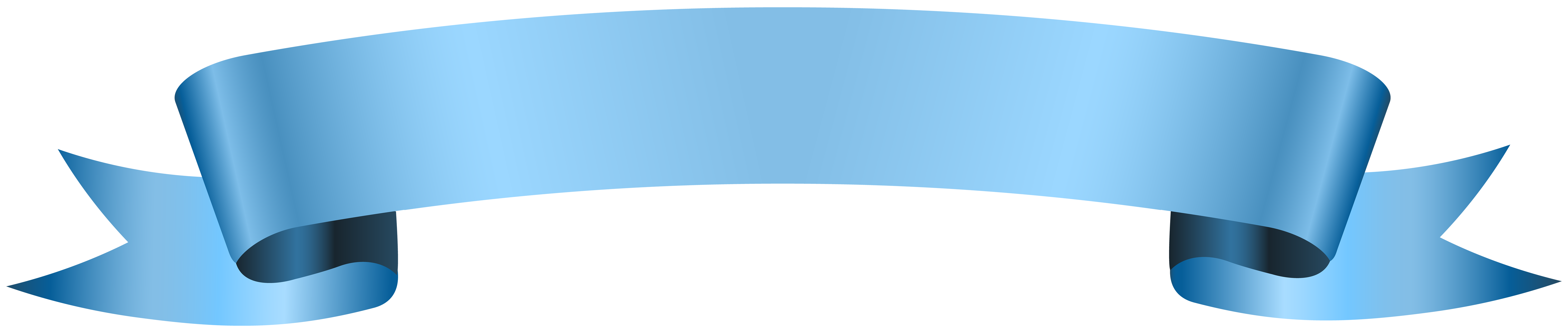 Blue ribbon banner png. Transparent clip ar gallery