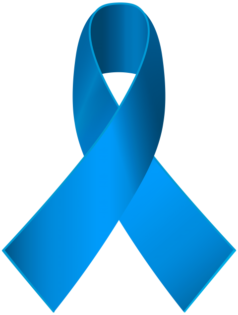 Blue ribbon png. Download awareness clipart photo