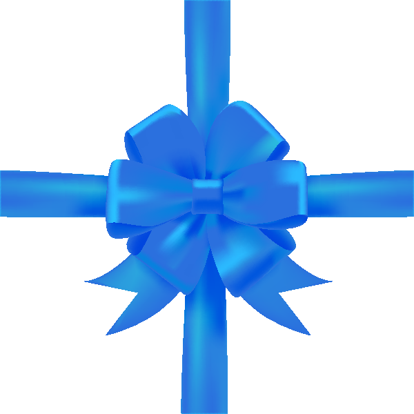 Blue ribbon vector png. Bow icon data svg