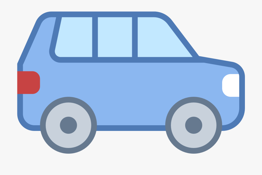 Blue suv. Car clipart images png